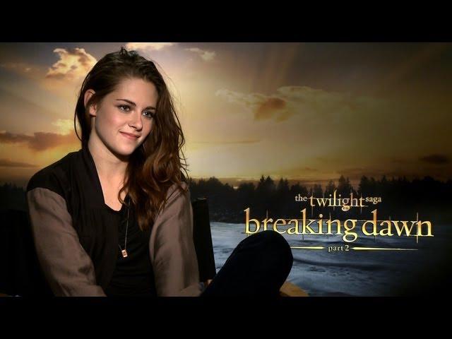 'Breaking Dawn 2′ Kristen Stewart Interview