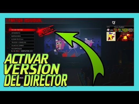 COMO ACTIVAR VERSION DEL DIRECTOR THE BEAST FROM BEYOND INFINITE WARFARE ZOMBIES