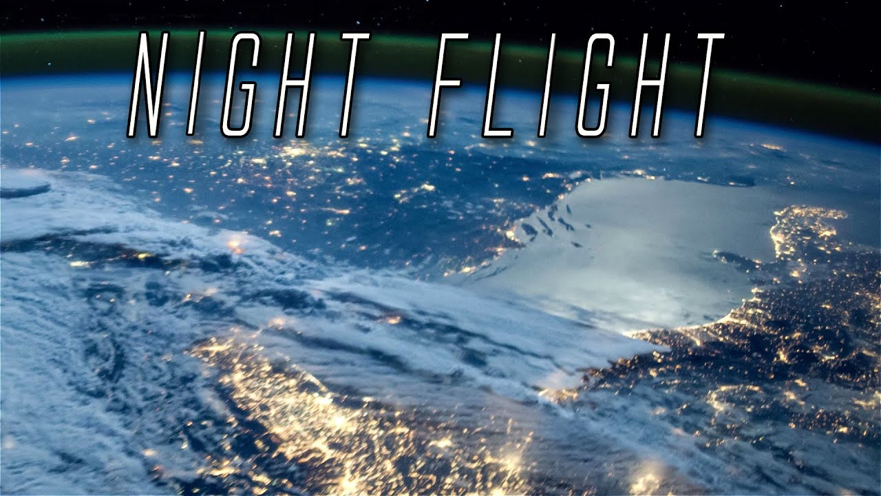 Night Flight: Earth From Space Seen From The ISS - Europe To Indian Ocean