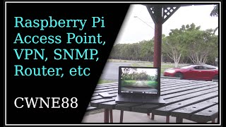 Raspberry Pi Access Point, VPN, SNMP, Router, Mobile Internet, Live Dashcam Access, etc