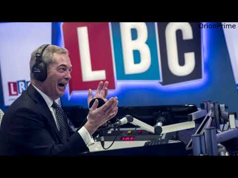 The Nigel Farage Show: Can Britain cope with rising population? LBC - 26th October 2017