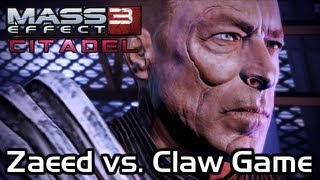 Mass Effect 3 - Citadel DLC - Zaeed Vs. Claw Machine