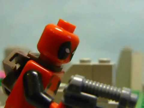Lego X Men Wolverine Versus Deadpool YouTube