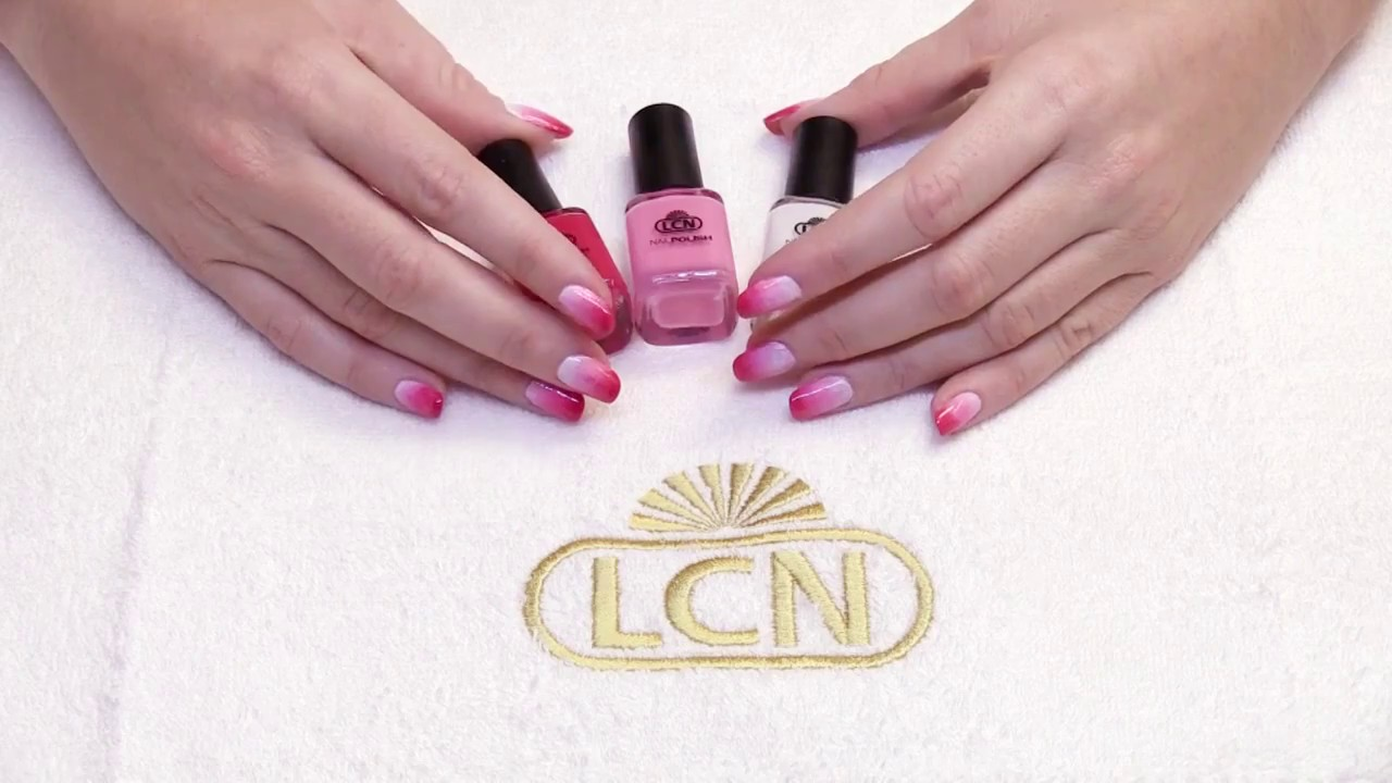 Lcn Mbcare Nail Art Ombre Nails Van Lcn Youtube