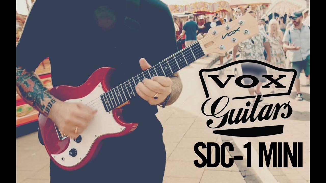 VOX SDC-1 mini ELECTRIC GUITAR - TAKE ME ANYWHERE