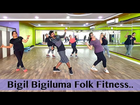 Bigil Bigil Bigiluma AR Rahman Music folk fitness By Kumar yadav