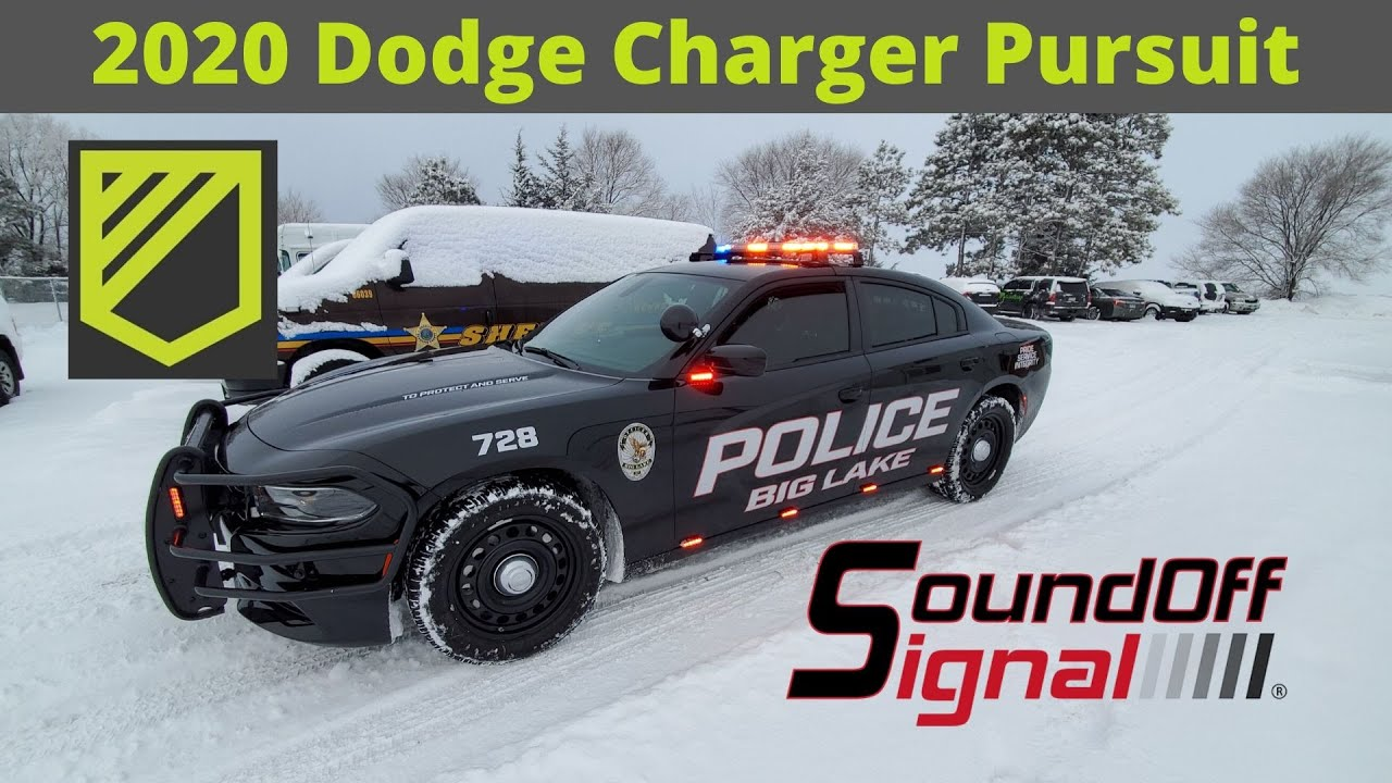 2020 Dodge Charger Pursuit For Mn Police Department Youtube