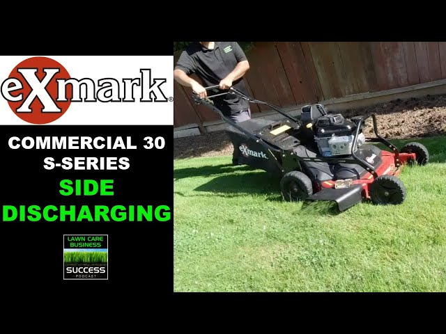 Exmark Commercial 30 S-Series Side Discharging Grass (2020 model)