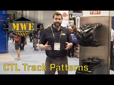 Track Patterns Compared for Compact Track Loader - CONEXPO 2017