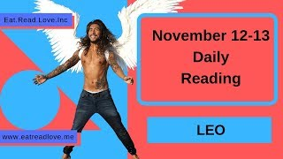 """LEO SOULMATE """"DON""""T BE SCARED"""" NOVEMBER 12-13 DAILY TAROT READING"""