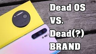 huawei P30 Pro vs. Nokia Lumia 1020