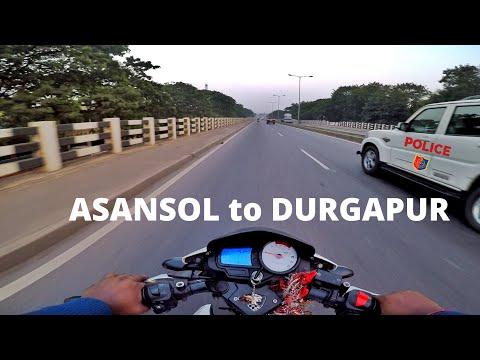 Asansol to Durgapur | Raniganj Bansra More Famous Litti | Bike Ride NH2