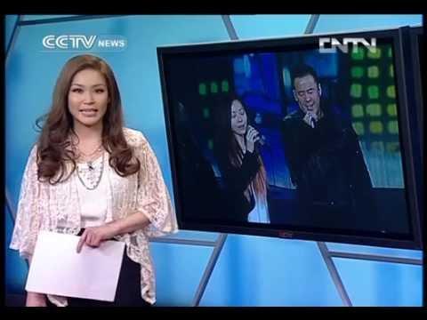 Jane Zhang & Yang Kun Rehearse for CCTV Gala (CCTV-NEWS)