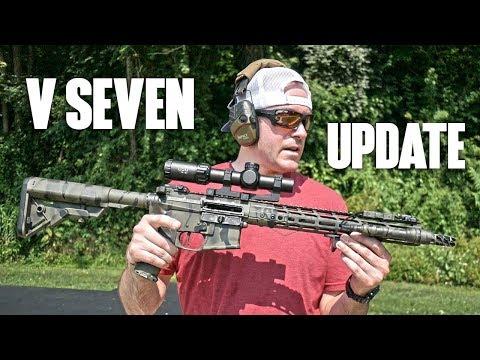 V Seven Ultra Light AR-15 Build: 1,000+ Rounds Fired! - YouTube