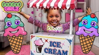 Pink Ice Cream Please! (Learn to Recognize Colors with Goo Goo Girlz)