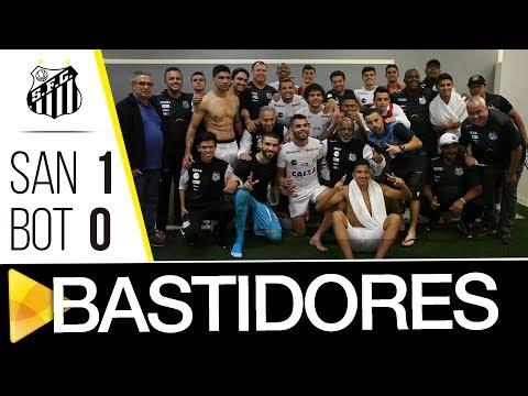 Santos 1 x 0 Botafogo | BASTIDORES | Brasileirão (07/06/17)