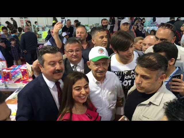 CHP Genel Başkanı Kemal Kılıçdaroğlu Merzifon 3. Kitap Fuarımızda
