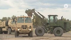 The U.S. Military Heavy Equipment Operation