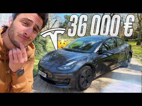 Je teste la Tesla MODEL 3 2021 à 36 000€ ! (ça vaut le coup ?)