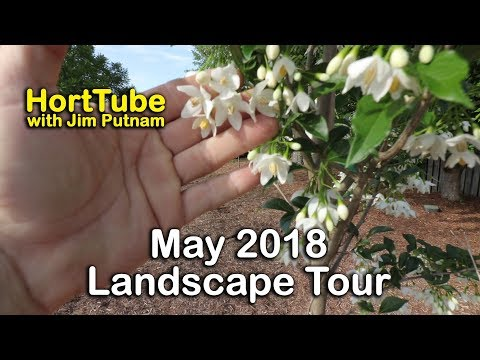 May 2018 Home Landscape Garden Tour