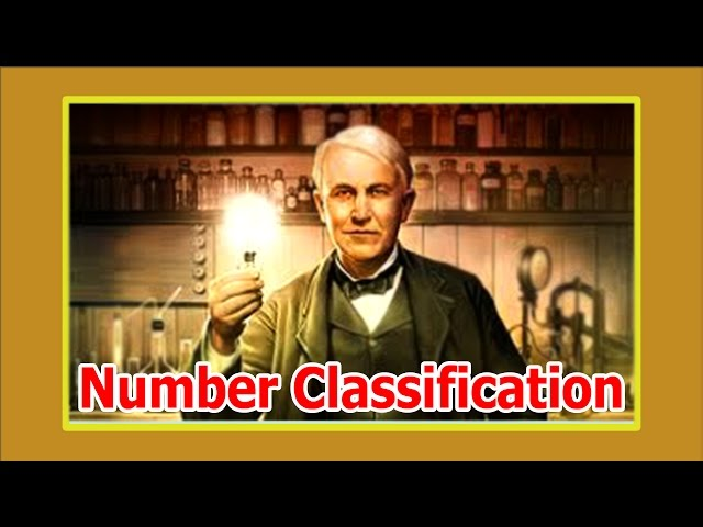 Classification of Number