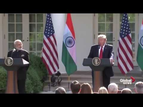Donald Trump and Indian Prime Minister Narendra Modi Full Joint News Conference