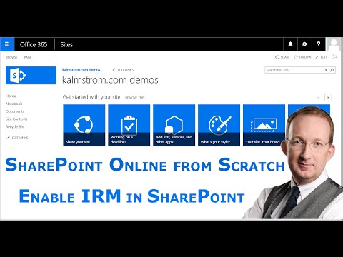 Enable Information Rights Management in SharePoint Online