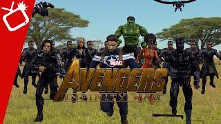 Avengers Infinity War Trailer In Stop-Motion