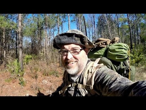 Survival Camping - 72 Hours in the Ocala National Forest Part 1