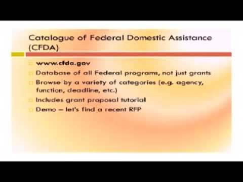 Unmasking Federal Grants