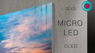 MICRO LED vs OLED vs QLED Explained @ CES 2019 | Shades of Tech ⓞ