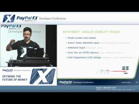 PayPal X Innovate 2010: Mobile Payment Security vs. Usability