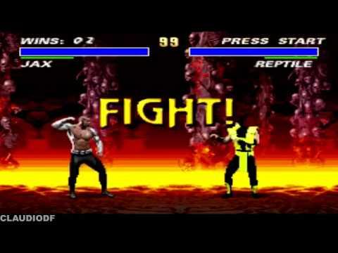 Download [TAS] Ultimate Mortal Kombat 3 hack JAX   Very Hard (SNES)