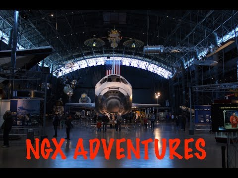 NGX Adventures at the Smithsonian National Air and Space Museum – Steven F. Udvar Hazy Center