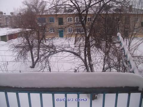 Мой грод Петров Вал. Зима 2012