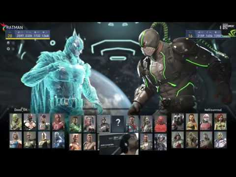 Injustice 2 Bane Bombing Ranked matches