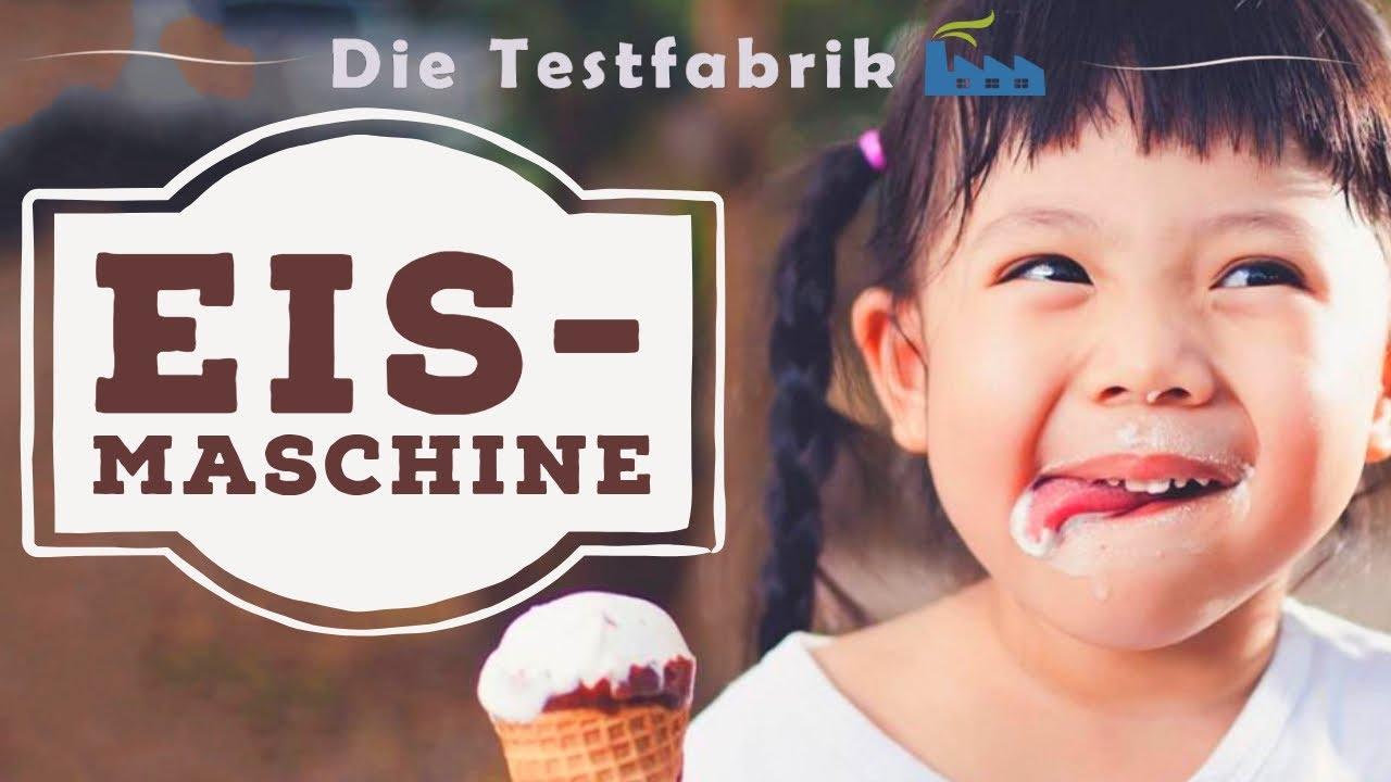 Eismaschine Test