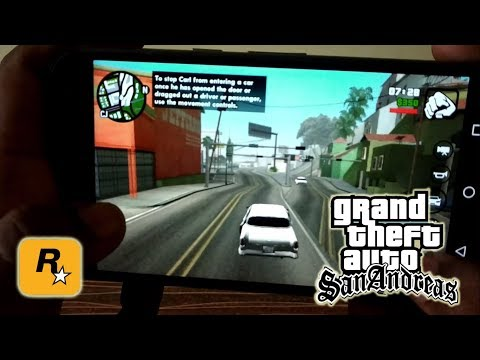 How To Install And Play GTA  San Andreas On Android For Free ► 2018
