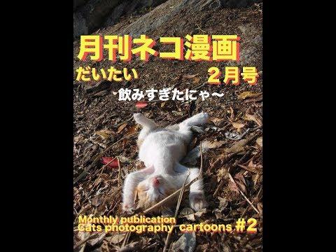 ネコ漫画2月号 Cat picture cartoon #2.