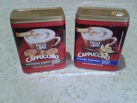 CAFE CAPPUCCINO INSTANTANEO HILLS BROS