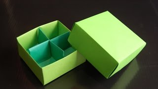 Origami  Box (Traditional / Box Divider - Paolo Bascetta)