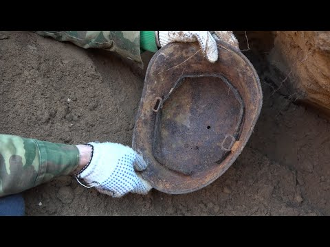 Incredible Excavations in Stalingrad Lots of finds