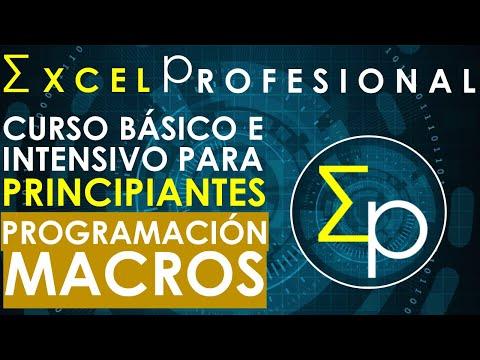Macros en excel   Curso basico intensivo   30 minutos.