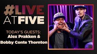 Broadway.com #LiveatFive with Alex Prakken and Bobby Conte Thornton
