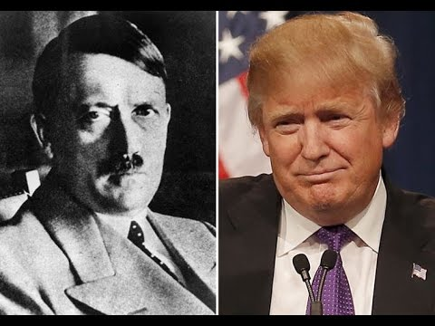 The rise of Trump eerily similar to the rise of Hitler - YouTube