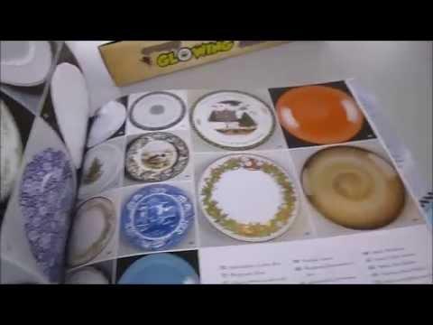 DISH 813 Colourful Wonderful Dinner Plates & DISH: 813 Colourful Wonderful Dinner Plates - YouTube