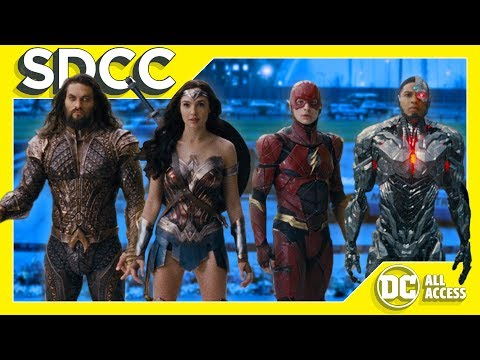 SDCC DAY 3 – NEW Justice League Trailer! + Young Justice News