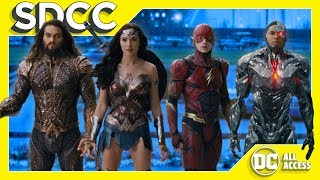 SDCC DAY 3 - NEW Justice League Trailer! + Young Justice News