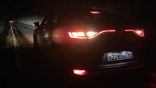 Как светит LED у Renault Arkana?