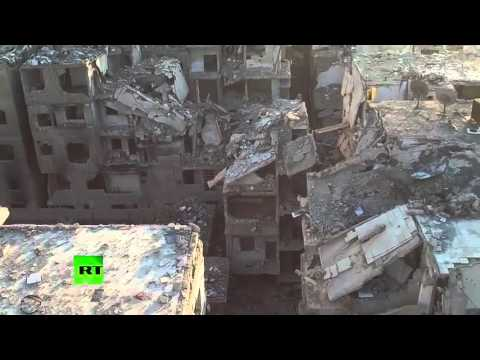 Stunning Drone Footage Depicts Syria's Dying Capital   Zero Hedge